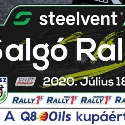 STEELVENT SALGÓ RALLY  2020. 07. 18 - 19.