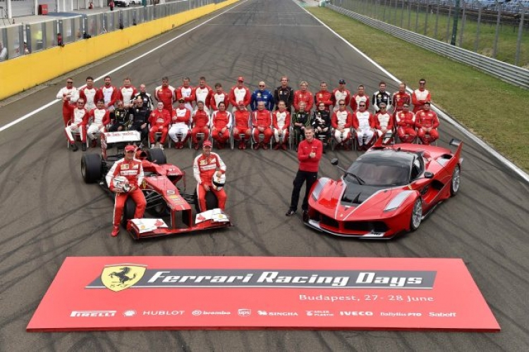 Ferrari Racing Days 2017. 06. 23 - 25.