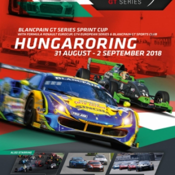Blancpain GT Series - Round 8 - Sprint Cup 2018. 08. 31 - 09. 02.
